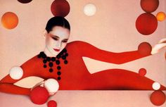 Shiseido, American Vogue, March 1985. Photograph by Serge Lutens | The Macabre Splendor of Serge Lutens | shrimptoncouture.com