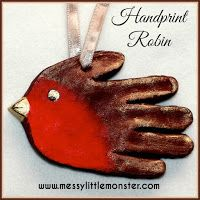 Santa handprint ornaments make adorable little keepsakes. They are made from a simple salt dough recipe and are a perfect Christmas craft ...