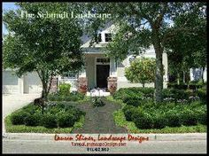 Tampa Landscape Design Computer generated image of landscape design concept for xeriscape using native landscape plants in Tampa Florida. 813.421.1107