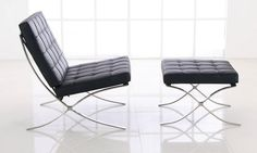 Barcelona Chair / Mies van der Rohe , 1929