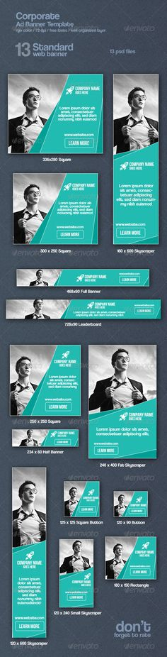 Corporate Web Ad Banners Template PSD   Buy and Download: http://graphicriver.net/item/corporate-web-ad-banners/8619608?WT.ac=category_thumb&WT.z_author=nazmul57&ref=ksioks