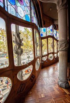 Антонио Гауди | Шедевр каталонского модерна Дом Бальо (Casa Batllo, Barcelona, Spain). Обсуждение на LiveInternet - Российский Сервис Онлайн-Дневников