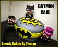 BATMAN CAKE By tresye on CakeCentral.com