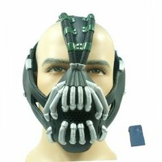 xcoser The Dark Knight Rise Mask Batman Bane Costume -Updated Version Bane Costume, Bane Cosplay, Cosplay Costumes, Cosplay Wigs, The Dark Knight Rises, Batman The Dark Knight, Voice Changer Mask, Bane Mask, Shopping