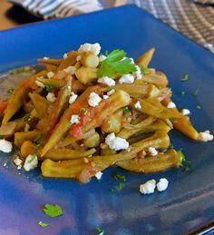 Λαδερές μπάμιες με ντομάτα και φέτα Poultry, Tacos, Mexican, Meat, Vegetables, Ethnic Recipes, Food, Backyard Chickens, Essen