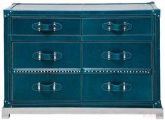 Dresser Mens World Blue 2Dr,2 Doors
