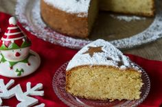 Greek New Year's Cake - Vasilopita Recipe Greek Sweets, Greek Desserts, Greek Recipes, Vasilopita Cake, Greek Cake, Greek Cookies, New Year's Cake, Greek Dishes, Gastronomia