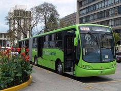 Transmetro Transporte público en la Capital de Guatemala
