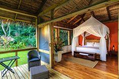 Es un alojamiento en Costa Rica. Ve mucho tranquilo.