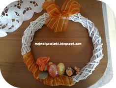 Wianek Wielkanocny z papierowej wikliny - krok po kroku - Mama-Kreatywna