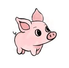 Image result for cute pig art