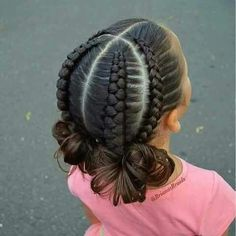 Frisuren geflochtene schwarze Frisuren 61 Ideen Hairstyles braided black hairstyles 61 ideas Little Black Girl Best Black Braided HaiKids Braided Hairstyles W Lil Girl Hairstyles, Girls Natural Hairstyles, Kids Braided Hairstyles, Princess Hairstyles, Pretty Hairstyles, Updo Hairstyle, School Hairstyles, Wedding Hairstyles, Braided Ponytail