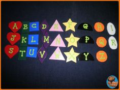 Letters Colors and Shapes 2