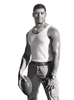 Pro Football Player Russell Wilson of the Seattle Seahawks - Men's Fitness - Page 3