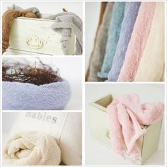 Image of purebaby Newborn Nest Wrap, SOFT | Photography Prop from Robin Long's Big Cartel shop $42