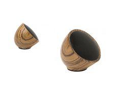 Zebrawood Speaker (wireless) from Jayson Home - $88