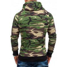 Pánska mikina - vojenský vzor pre mladých mužov Military Jacket, Jackets, Fashion, Men, Down Jackets, Moda, Field Jacket, Fashion Styles, Military Jackets