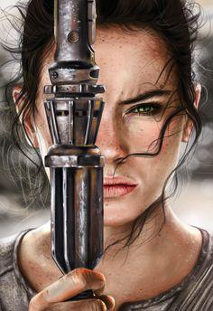 Rey, Lara Cremon on ArtStation at https://www.artstation.com/artwork/Gk3Vd…