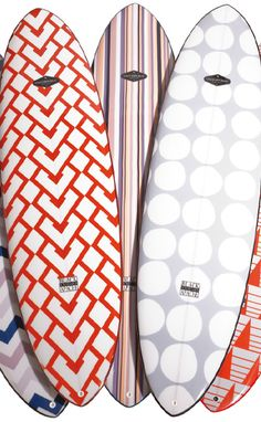 Chic surfboards at Coco Republic