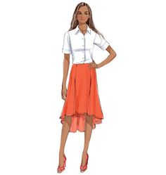 Misses' Skirt, B6059 http://butterick.mccall.com/b6059-products-48578.php?page_id=147 #butterickpatterns