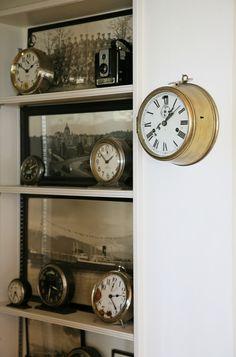 'Westclox' bedside alarm clock collection (1890-1935 vintage)
