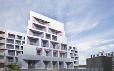 JDS . ZIGGURAT HOUSING N4 . Paris (1) | a f a s i a