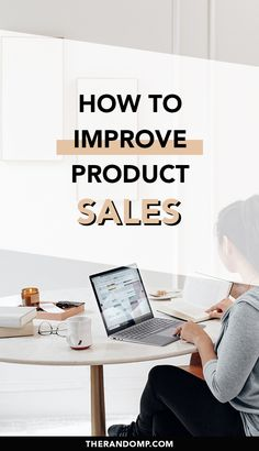 How to make more money online? Learn how to improve your product sales! Create digital products to make money blogging and learn how to automatize sales online. Make more sales and earn passive income! #moresales #passiveincome #onlineincome #makemoneyblogging