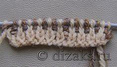 Вязаная шапка с бантом спицами для начинающих Kids And Parenting, Baby Knitting, Diamond, Hats, Model, Silver, Jewelry, Crochet Coat, Tricot