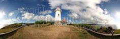 Batan Lighthouse panoramic Panoramic Images, Photo Library, Lighthouse, Statue Of Liberty, Philippines, Stock Photos, World, Poster, Travel