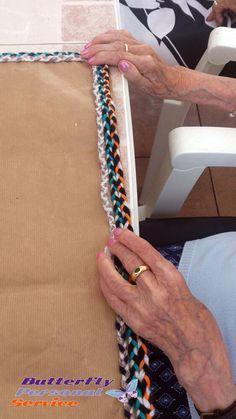 Taller de #manualidades en #CentroGeriátrico, que bien se lo pasan con nuestros profesionales de www.butterflyservicepersonal.com