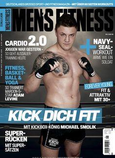Kick dich fit: Mit Kickbox-König Michael #Smolik  Jetzt in @MensFitnessde:  #kickboxing #boxing #Boxen #Kickboxen #workout #Training