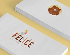 Logo and Identity for creative children's party service in Moscow