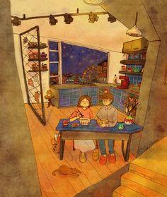 L'artista ''Puuung'' torna a ricordarci che il vero Amore si trova in tutti i piccoli momenti di un rapporto di coppia. Le illustrazioni mostrano l'importanza delle interazioni giorno per giorno con lo scopo di diventare un promemoria per non dimenticare le piccole cose. #1 #2 #3 #4 #