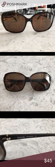 Michael Kors Brown Sung Like new! Barely worn, great condition. Brown frame and lenses. Michael Kors Accessories Sunglasses