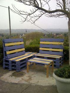 Bains de soleil convertible en salon de jardin... | Bosch Les ...