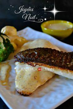 Filets de turbot cuit à la plancha pour un repas exceptionnel #Saint-Valentin #poisson #turbot #saucechampagne