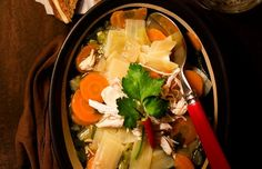 Asian-Style Chicken Noodle Soup - Cool Home Recipes