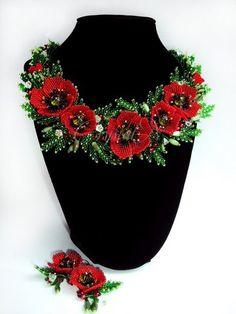Bead poppies