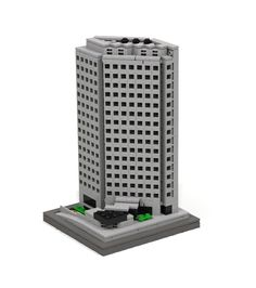 https://flic.kr/p/vU1qfE | 411 East Wisconsin Center - Milwaukee | The LDD model has about 760 pieces.