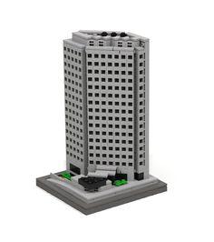 https://flic.kr/p/vU1qfE | 411 East Wisconsin Center - Milwaukee | The LDD model has about 760 pieces.