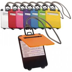 Kemer Luggage Tag - Promotional Cheap Colourful Luggage Tags Printed :: Travel and Leisure :: Promo-Brand :: Promotional Products l Promotional Items l Corporate Branding l Promotional Branded Merchandise Promotional Branded Products