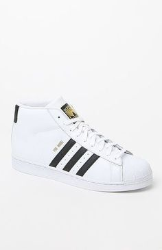 a5e1ea2497cc1 Pro Model White  amp  Black Shoes Superstars Shoes