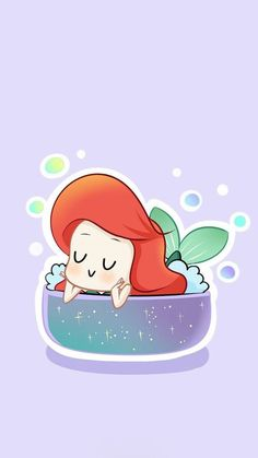 64 Trendy Ideas for wallpaper celular fofo sereia ariel Ariel Wallpaper, Disney Phone Wallpaper, Kawaii Wallpaper, Cute Wallpaper Backgrounds, Wallpaper Iphone Cute, Kawaii Disney, Disney Art, Disney Princess Drawings, Disney Drawings