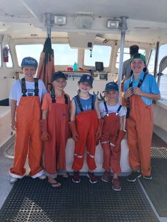 These medium-weight PVC fishing bib trousers are made for the young fisherman in your family — yet they deliver the same waterproof protection and professional-grade durability Grundéns is famous for. Outfit the kids for your next fishing adventure! Lobster Fishing, Fishing Adventure, Rain Gear, Fishing Outfits, Sport Fishing, Maine, Overalls, Oil Paintings, Children