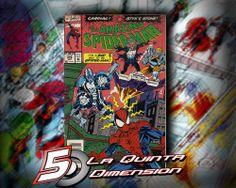 AMAZING SPIDER-MAN # 376  COMIC DE 1993, DE MARK BAGLEY. $ 50.00 Para más información, contáctanos en http://www.facebook.com/la5aDimension