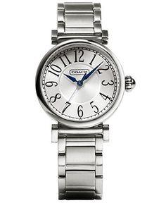 COACH MADISON FASHION BRACELET WATCH - Women's Watches - Jewelry & Watches - Macy's