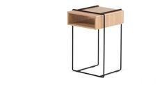 Clifford Bedside Table, Oak | made.com