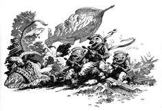 20,000 Leagues Under the Sea Commission Comic Art