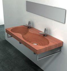 Modern Teak Tubs & Sinks From Plavisdesign of Italy
