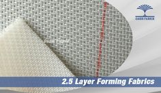Double and 2.5 Layer Forming Fabrics